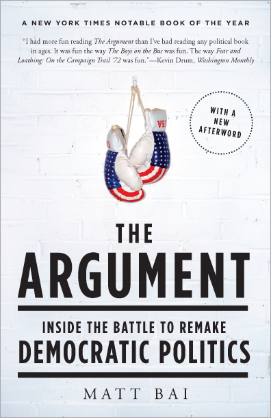 Matt Bai chronicles the Democrats' return to political dominance in The Argument.