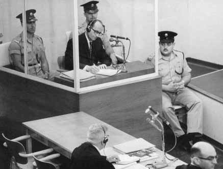 The image of Adolf Eichmann behind glass while on trial in Jerusalem haunts us still. Neal Bascomb's new book provides a new vision of Eichmann and the compelling story of his capture.