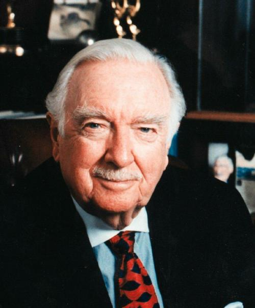 Fabled newsman Walter Cronkite died yesterday at age 92.
