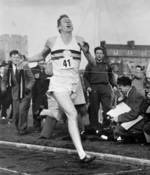 Roger Bannister's record breaking moment was far more memorable than my first triathlon