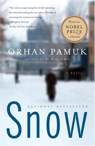 I'm loving this masterfully written novel by Orhan Pamuk.