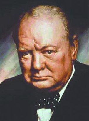 Management guru Jim Collins urge failings companies to heed the words of Winston Churchill.