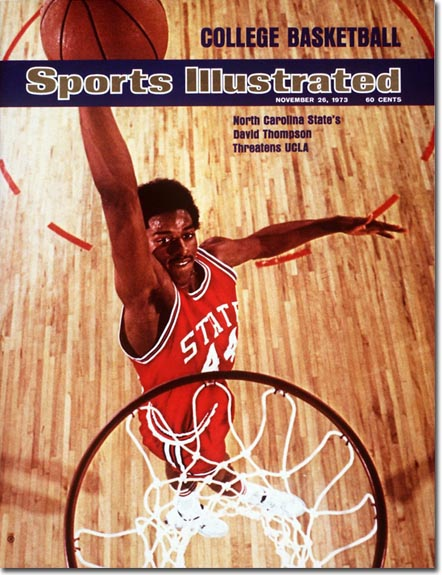 David Thompson will present Michael Jordan for induction into the basketball Hall of Fame this weekend.