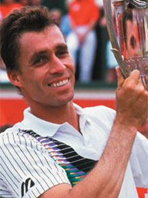 Ivan Lendl applied many of the ideas endorsed by Jim Loehr and Tony Schwartz.