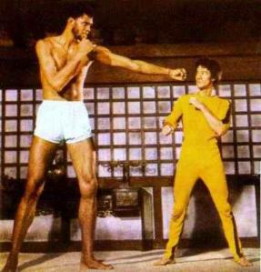 Rather than fighting Bruce Lee, NBA legend Kareem Abdul-Jabbar is battling cancer.