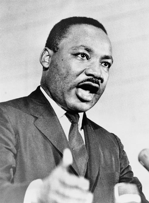 thesis of martin luther king jr
