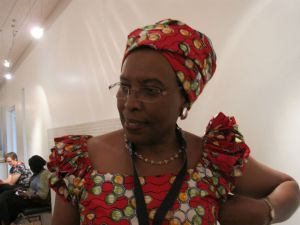 Marguerite Barankitse at the Engaging the Other conference.