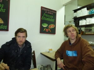 Cort Hepler and Joe Hinchcliffe of the Santiago Times.