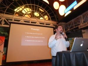 Alvaro Graves speaks at Data Tuesday.