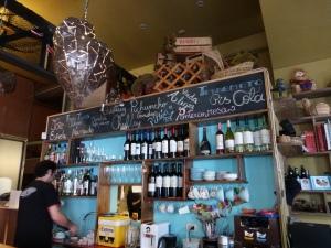 The bar at restaurant Almacen Nacional.
