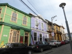 Typical colors for Valparaiso homes.
