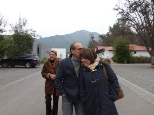 Maria Eliana and Humberto before heading to their house.