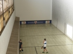 The Spanish version of racquetball at the Estadio Español.