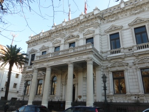 The former Congress where the conference of Latin American journalists was held.