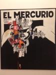 A picture of El Mercurio at the Salvador Allende Museum.