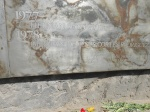 A wall that honors victims who were murdered at Villa Grimaldi.