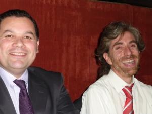 Hugo Rojas, left, and Christian Viera, right.
