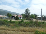 More houses along the road in Melipilla.