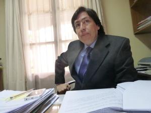 Carlo Gutierrez, head of the legal team in Melipilla.