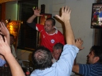 Chileans celebrate qualifying for the 2014 World Cup in Brazil.
