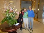 Dunreith and me with Rosi, a travel agent from Brazil.