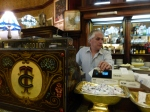 The cash register at Cafe Tortoni in Buenos Aires.