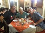 Jon, Dunreith and me at Peru Gustoso.  His time here was one of many highlights during our five months.