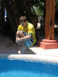 Cannonball in Costa Rica!