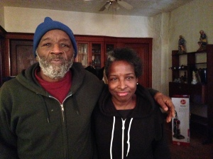The late Mack Herron and his sister Barbara at their family home in January 2015.  The prospect of being homeless due to problems with a reverse mortgage his mother had purchased troubled Herron, who died in December at age 67.